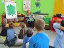 Przedszkolaki grzecznie wysłuchały świątecznego opowiadania_1