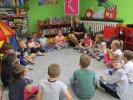 W lipcu dzieci z grupy integracyjnej brały udział w spotkaniu klubu_1