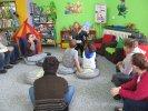 Tematem spotkania z uczniami Zespołu Szkół Specjalnych były koty