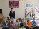 Pani Piątkowska opowiedziała przedszkolakom o swoich książkach_1